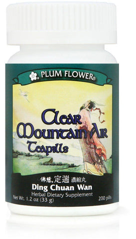 Plum Flower - Clear Mountain Air Teapills - Ding Chuan Wan
