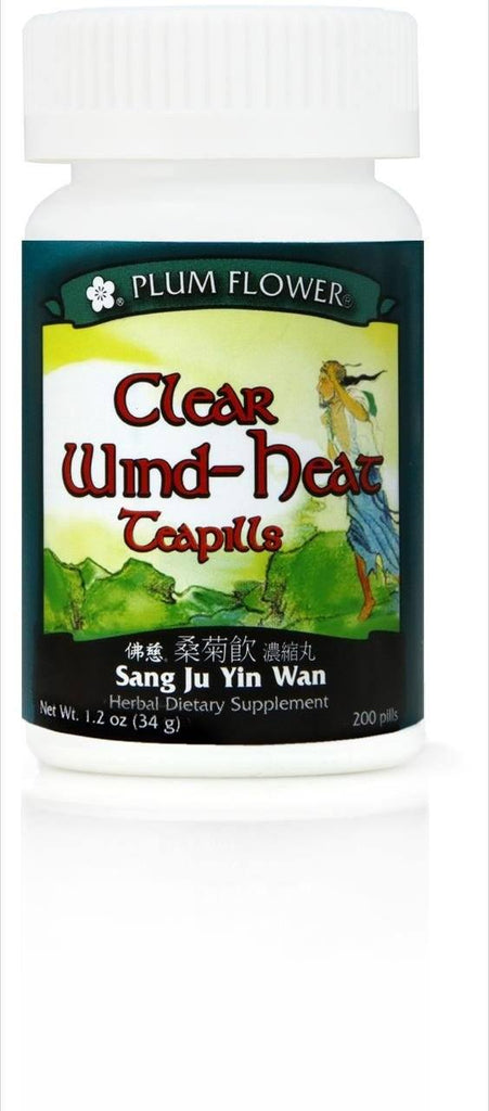 Plum Flower - Clear Wind Heat Teapills - Sang Ju Yin Wan | Best Chinese Medicines