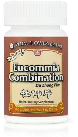 Plum Flower - Eucommia Combonation Tablets - Du Zhong Pian (temporarily out of stock)