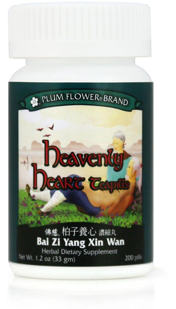 Plum Flower - Heavenly Heart Teapills - Bai Zi Yang Xin Wan | Best Chinese Medicines