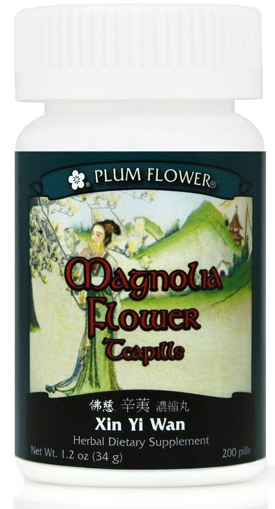 Plum Flower - Magnolia Flower Teapills - Xin Yi Wan | Best Chinese Medicines for Allergies and Sinusitis
