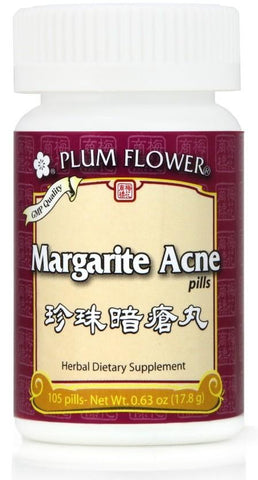 Plum Flower - Margarite Acne Pills