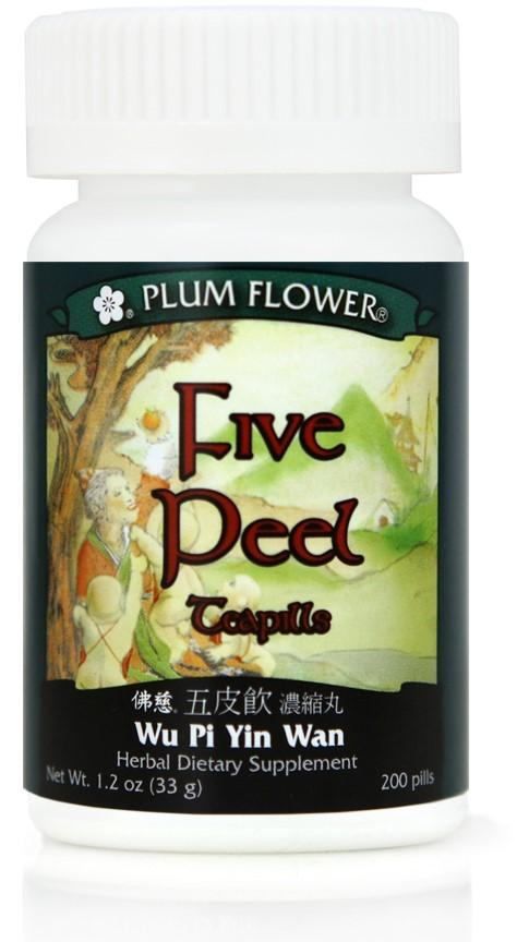 Plum Flower - Five Peel Teapills - Wu Pi Yin Wan | Best Chinese Medicines