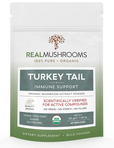 Turkey Tail Mushroom Powder - by Real Mushrooms