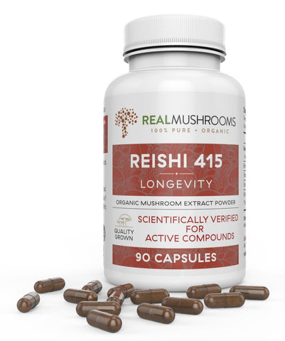 Reishi 415 Mushrooms Capsules | Best Chinese Medicines