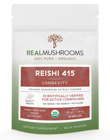 Reishi 415 Mushroom Powder - by Real Mushrooms