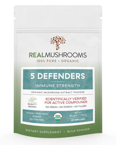 5 Defender Mushroom Powder | Best Chinese Medicines