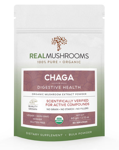 Organic Chaga Mushroom Powder | Best Chinese Medicines