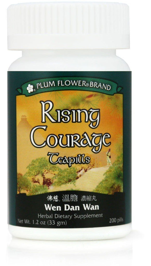 Plum Flower - Rising Courage Teapills - Wen Dan Wan | Best Chinese Medcines