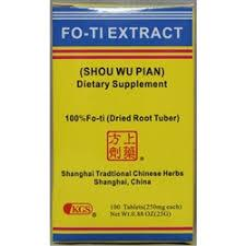 Shou Wu Pian (Fo-Ti Extract) | Best Chinese Medicines