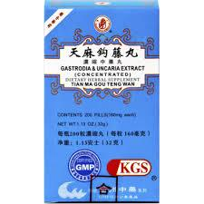 Tian Ma Gou Teng Wan - Gastrodia & Uncaria Extract | Best Chinese Medicines