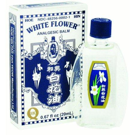 White Flower Oil (Analgesic Balm) - .67oz (20ml) | Best Chinese Medicines