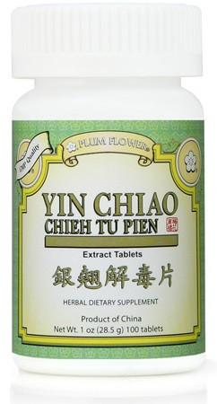 Plum Flower - Yin Chiao Chieh Tu Pien (Yin Qiao) | Best Chinese Medicines for Cold and Flu