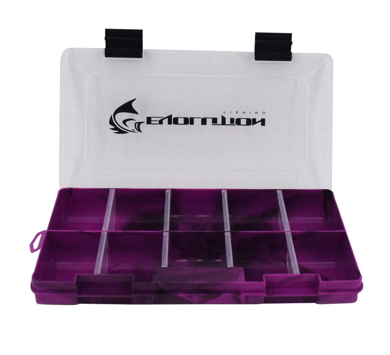 3500 Drift Series Colored Tackle Tray- Purple