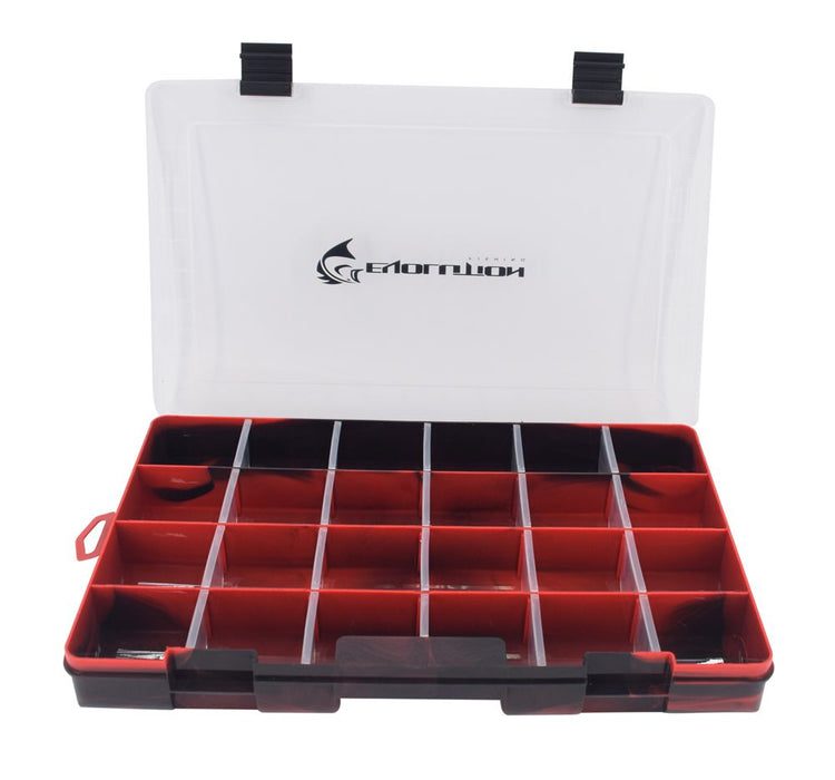 3700 Drift Series Colored Tackle Tray - Red