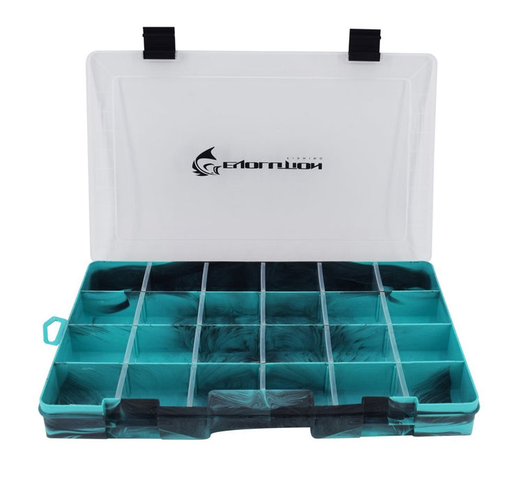 3700 Drift Series Colored Tackle Tray - Seafoam Green