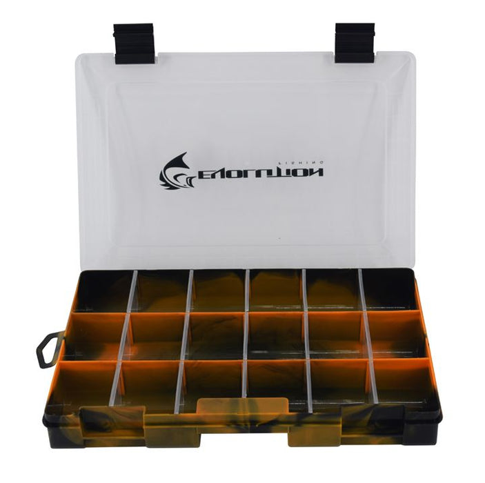 3600 Drift Series Colored Tackle Tray - Orange