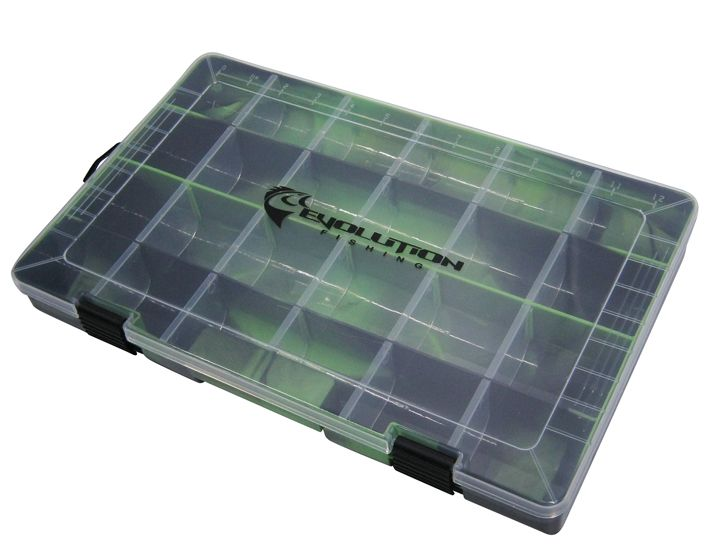3700 Drift Series Colored Tackle Tray - Green