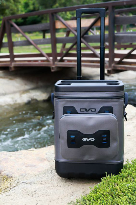 Evolution Outdoor EVO Leak Proof 25 Quart Rolling Cooler
