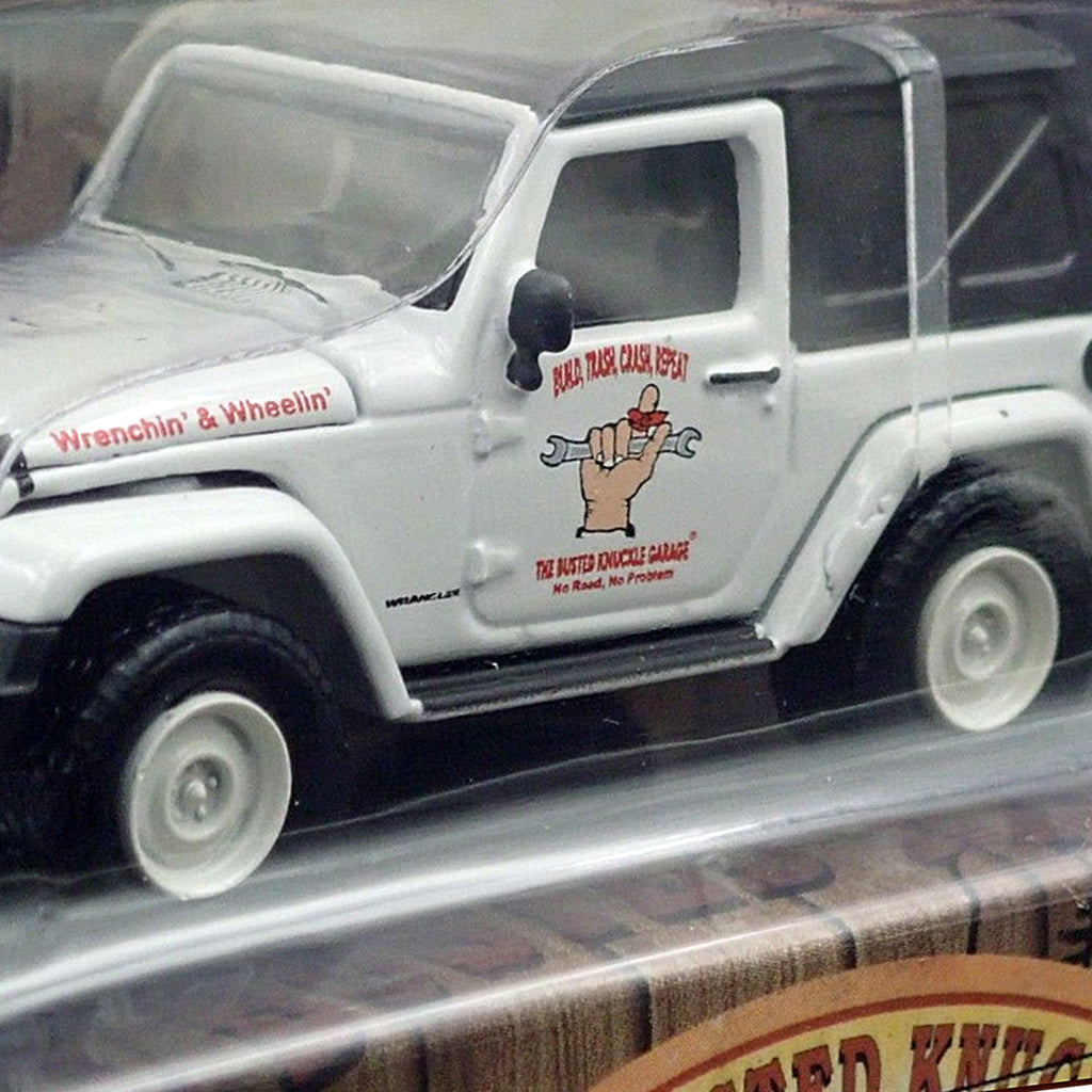 Busted Knuckle Garage Jeep Guy 1:64 Scale Jeep Wrangler Collectible