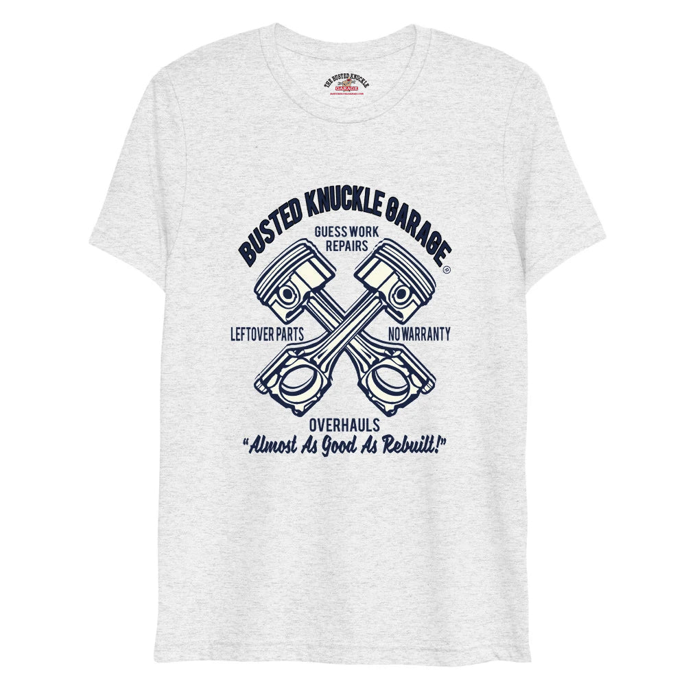 Busted Knuckle Guesswork Repair Tri-Blend Shirt