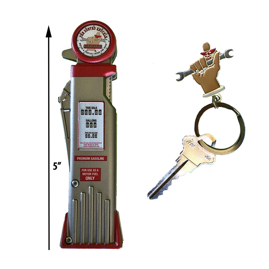 Car Guy Gas Pump Folding Pocket Knife