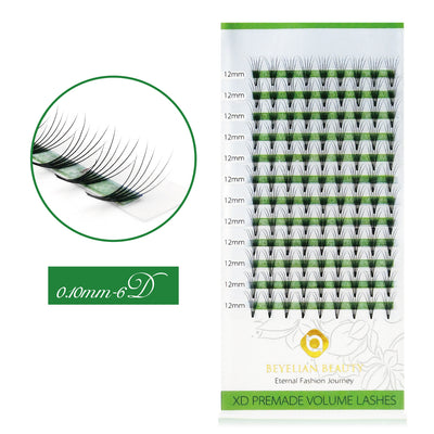 0.10 6D Premade Fan Lashes