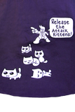 Release the attack the Kittens Tote Bag