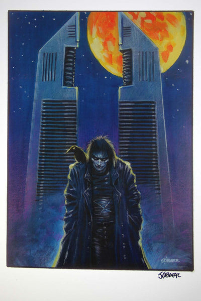 The Crow - The Towers (Signed Print)