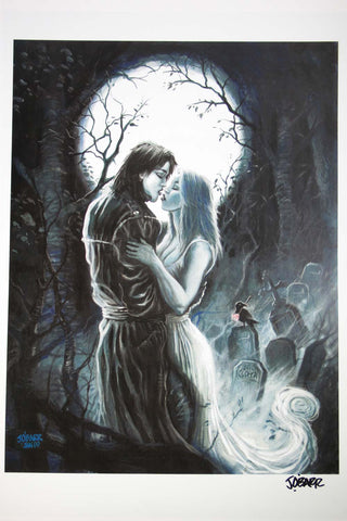 The Crow - True Love Always (Signed Print)