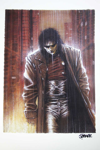 The Crow - Rain SIENNA (Signed Print)