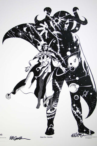 Dr Strange & Eternity (Signed Print)