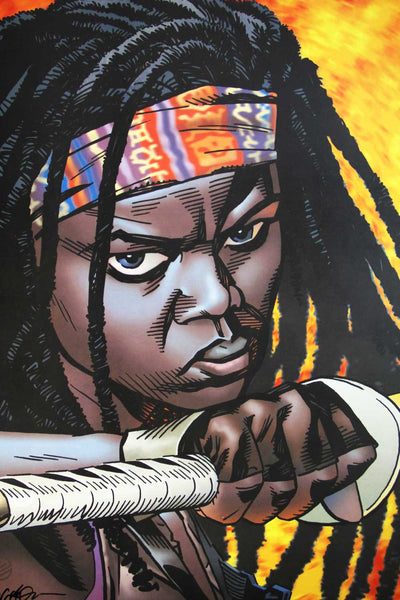 The Walking Dead - Michone (Signed Print)