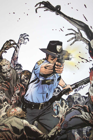 The Walking Dead #1 Cover (Signed Print)