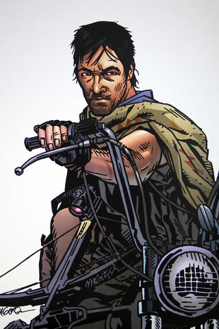 The Walking Dead - Daryl (Signed Print)