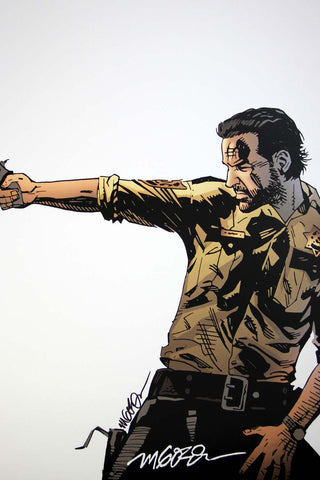 The Walking Dead - Rick (Signed Print)