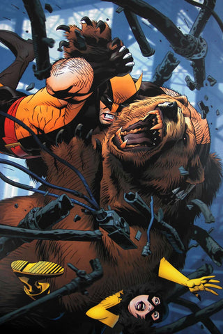 Wolverine vs Ursa Major - Wolverine First Class #8 Cover (Signed Print)