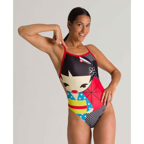 COSTUME ARENA DONNA INTERO PISCINA WOMAN GHEISHA