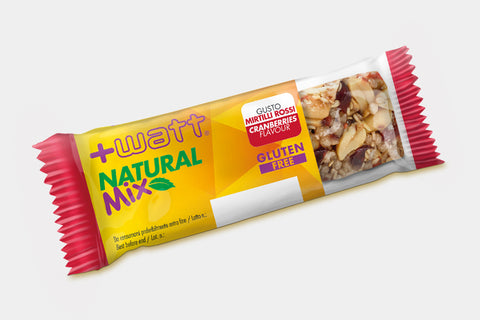 BARRETTE ENERGETICHE Natural Mix +WATT NUTRITION