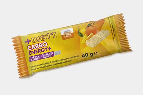 BARRETTE ENERGETICHE Carbo Energy+ +WATT NUTRITION