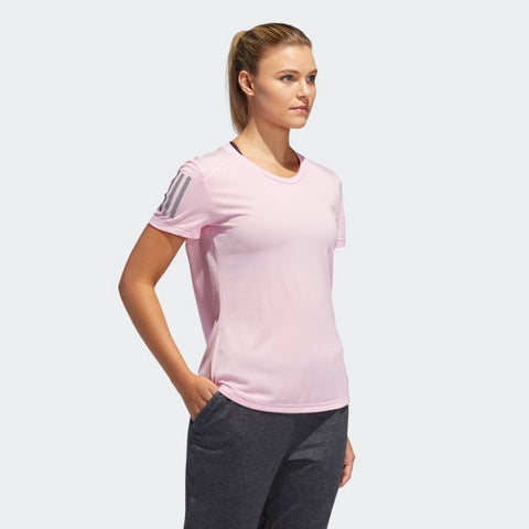 T SHIRT ADIDAS MAGLIA DONNA CLIMACOOL - OWN THE RUN ROSA