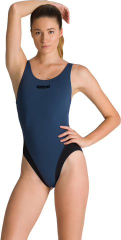 COSTUME ARENA DONNA BICOLOR COSTUME INTERO PISCINA SOLID
