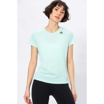 T SHIRT ADIDAS MAGLIA DONNA CLIMACOOL - OWN THE RUN VERDE ACQUA