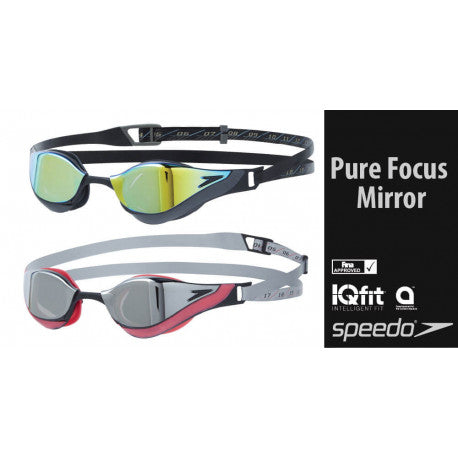 OCCHIALINI FASTSKIN PURE FOCUS - SPEEDO - MIRROR - GARA -COMPETITION