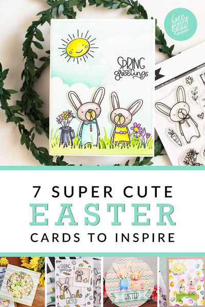 Spring Bunnies Clear Stamps Make Cute Easter Cards