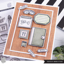 Load image into Gallery viewer, Boss Girl Planner Girl Clear Stamps by Holly Pixels