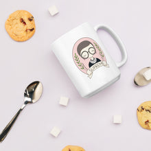 Load image into Gallery viewer, Ruth Bader Ginsberg Coffee Mug by Holly Pixels