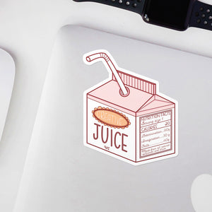 Creative Juice Artist Vinyl Sticker by Holly Pixels