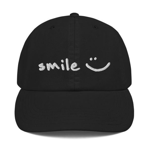 'smile :)' Champion Dad Cap