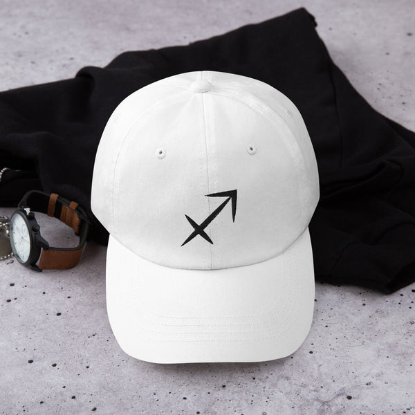 Sagittarius Sign unstructructured hat